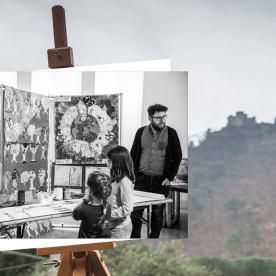 Faccia da libro Roberto Parmeggiani Rocca di Cerbaia Carmignanello, Cantagallo