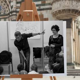 Faccia da libro Simone Frasca Cattedrale di Santo Stefano, Prato