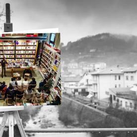 Faccia da libro Guido Sgardoli Viale della Stazione, Vernio