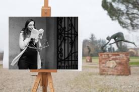 Faccia da libro Silvia Baroncelli Parco Museo Quinto Martini Seano, Carmignano