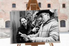 Faccia da libro Sergio Guastini Palazzo Pretorio, Prato