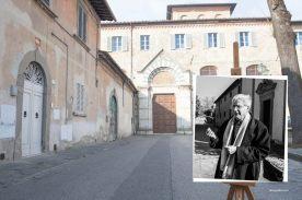 Faccia da libro Francesco D'Adamo Conservatorio di San Niccolò, Prato