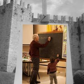 Faccia da libro Roberto Trallori Castello dell'Imperatore di Prato