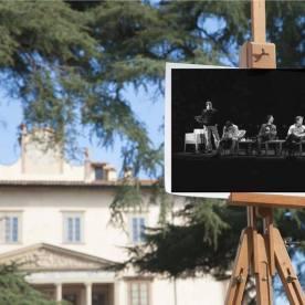Faccia da libro Elio e le Storie Tese Villa Medicea di Poggio a Caiano