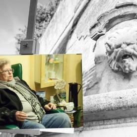Faccia da libro Gianna Vitali Fontana del Mascherone, Poggio a Caiano
