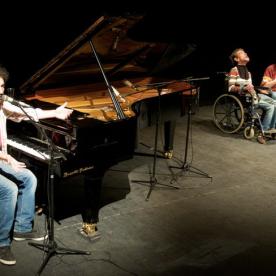 Stefano Bollani e Claudio Imprudente