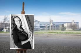 Faccia da libro Anna Sarfatti Tribunale piazzale Falcone Borsellino Prato